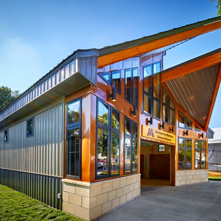 Minneapolis Garage Builders News Construction Blog: University Of Minnesota's Driven To Discover Building At