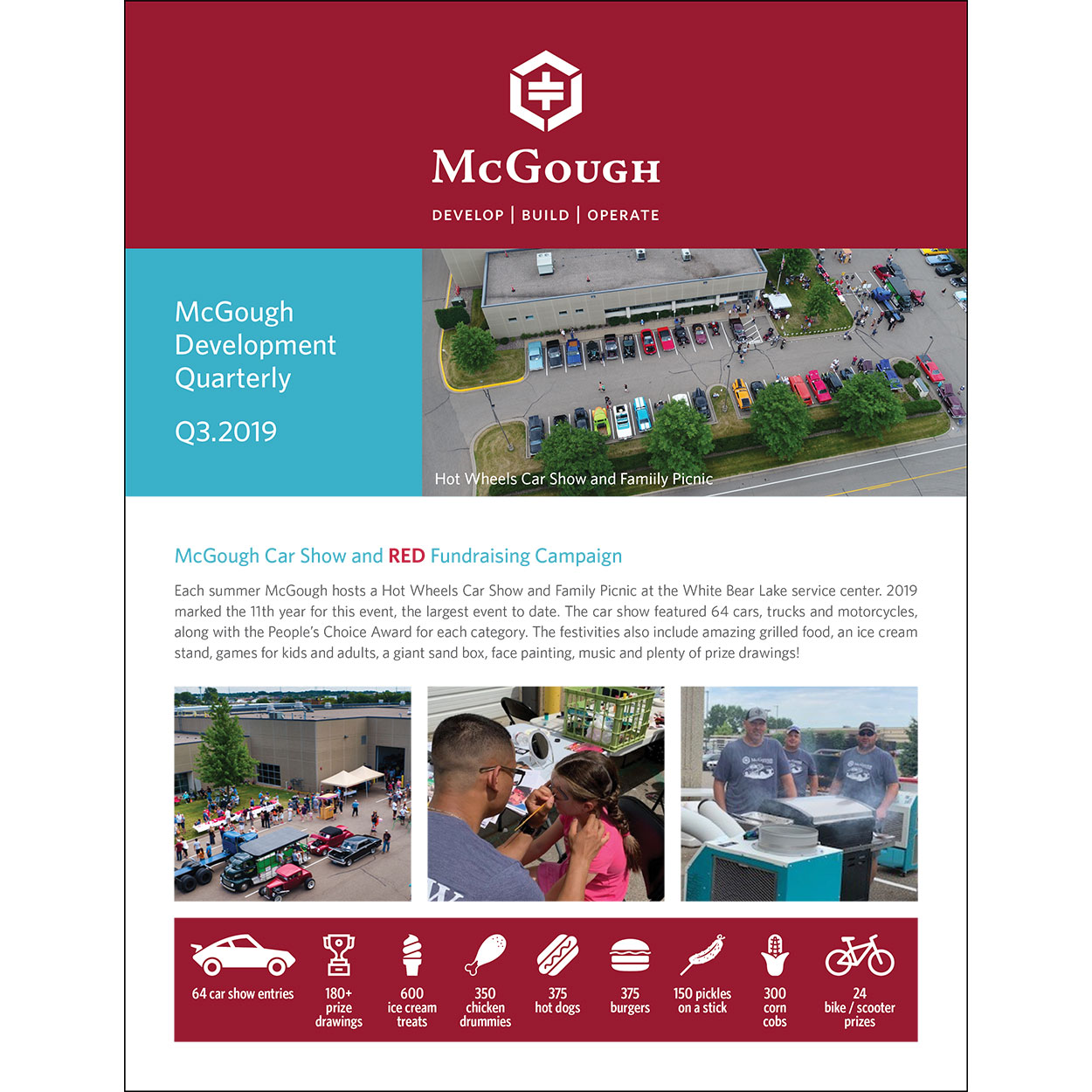 McGough Development Quarterly Newsletter Q3 2019